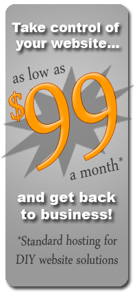 Website hosting and business solutions starting at $99 month!
