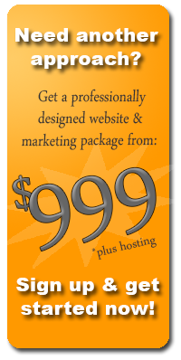 Website design services by MySiteCMS - professtional website design starting at $499